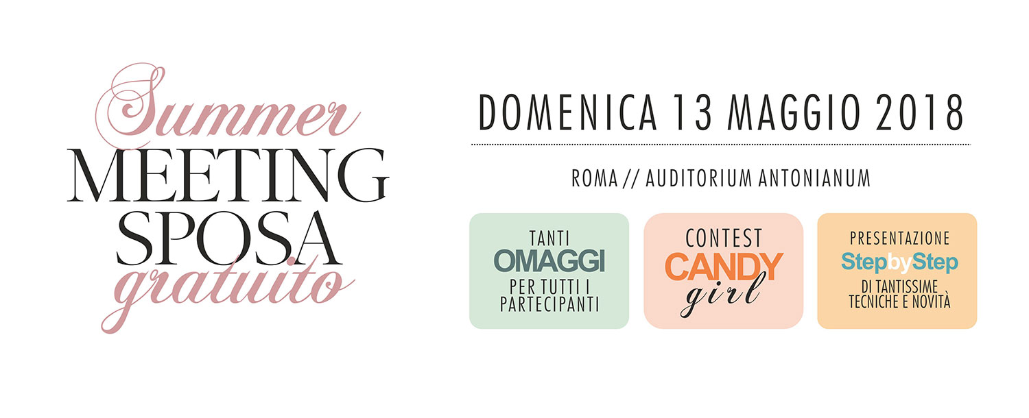 Meeting Summer Sposa 2018